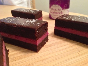 Blood, Sweat, and Tiers Brownies.
