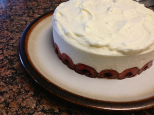 Allspice Cake with Cherry Filling - Alex Marie Lombino
